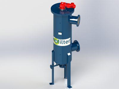 Filtre automatique à décolmatage continu pour débit de 400 m3/h