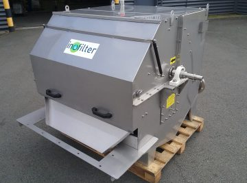 tamis rotatif alimentation externe SRA100 - 1