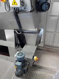 Tamis rotatif alimentation interne avec compacteur - 1