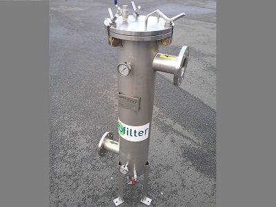 Inofilter - filtre à cartouches équipé avec trépied