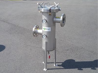 Inofilter - filtre à panier APTX équipé sur trépied
