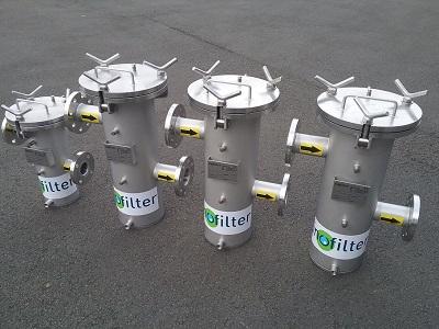 Inofilter - filtre à panier série APTX - 10 bars